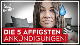 DIE 5 AFFIGSTEN ANKÜNDIGUNGEN! | TOP 5
