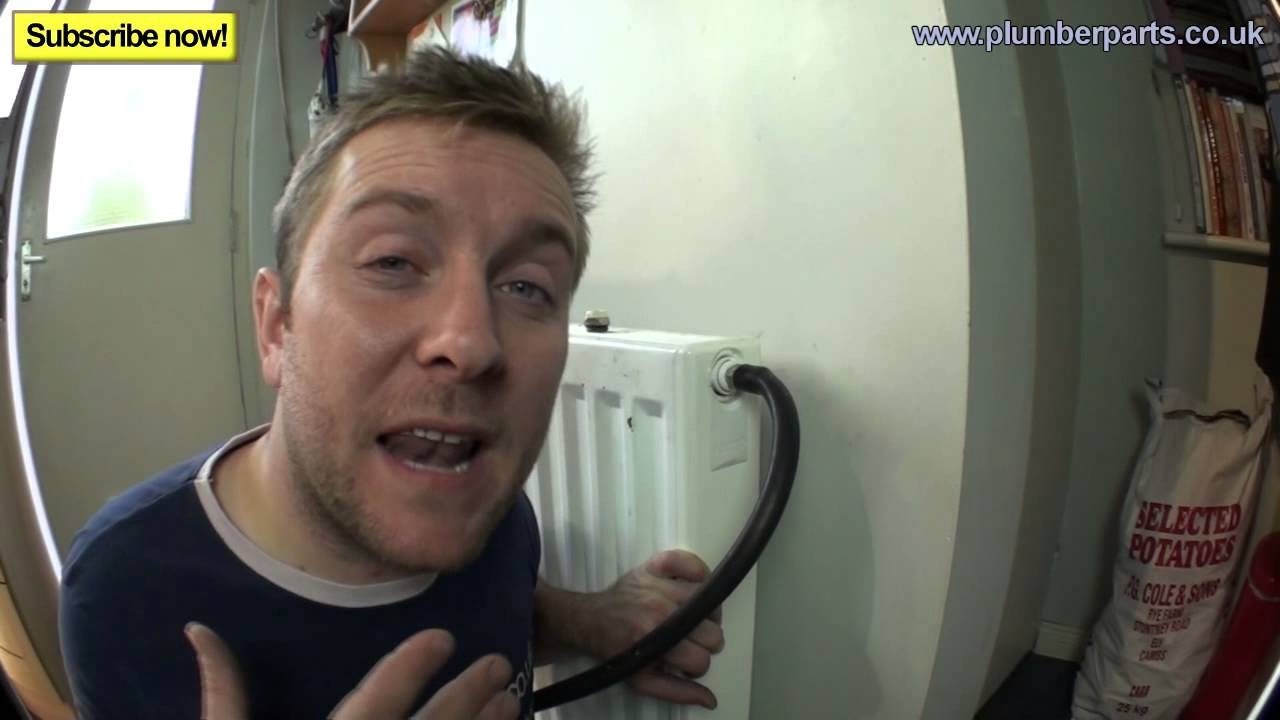 Remove Airlock From Radiator Plumbing Tips Youtube