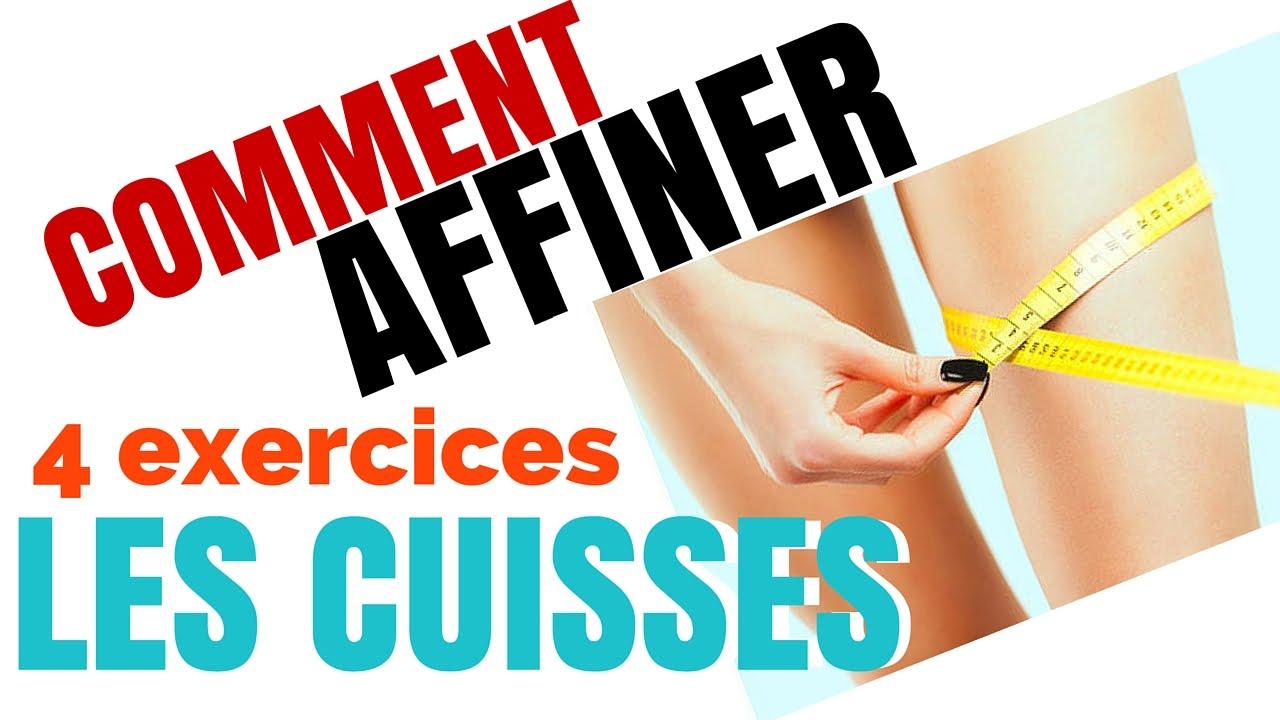 Extrêmement musculation: 4 Exercices Pour Affiner Les Cuisses - YouTube GZ73