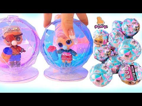 КУКЛЫ ЛОЛ 6 СЕРИЯ - ЗИМНЯЯ ДИСКОТЕКА! LOL SURPRISE BABY DOLL - WINTER DISCO! Мультик // My Toys Pink