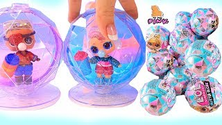 КУКЛЫ ЛОЛ 6 СЕРИЯ - ЗИМНЯЯ ДИСКОТЕКА! LOL SURPRISE BABY DOLL - WINTER DISCO! Мультик // My Toys Pink