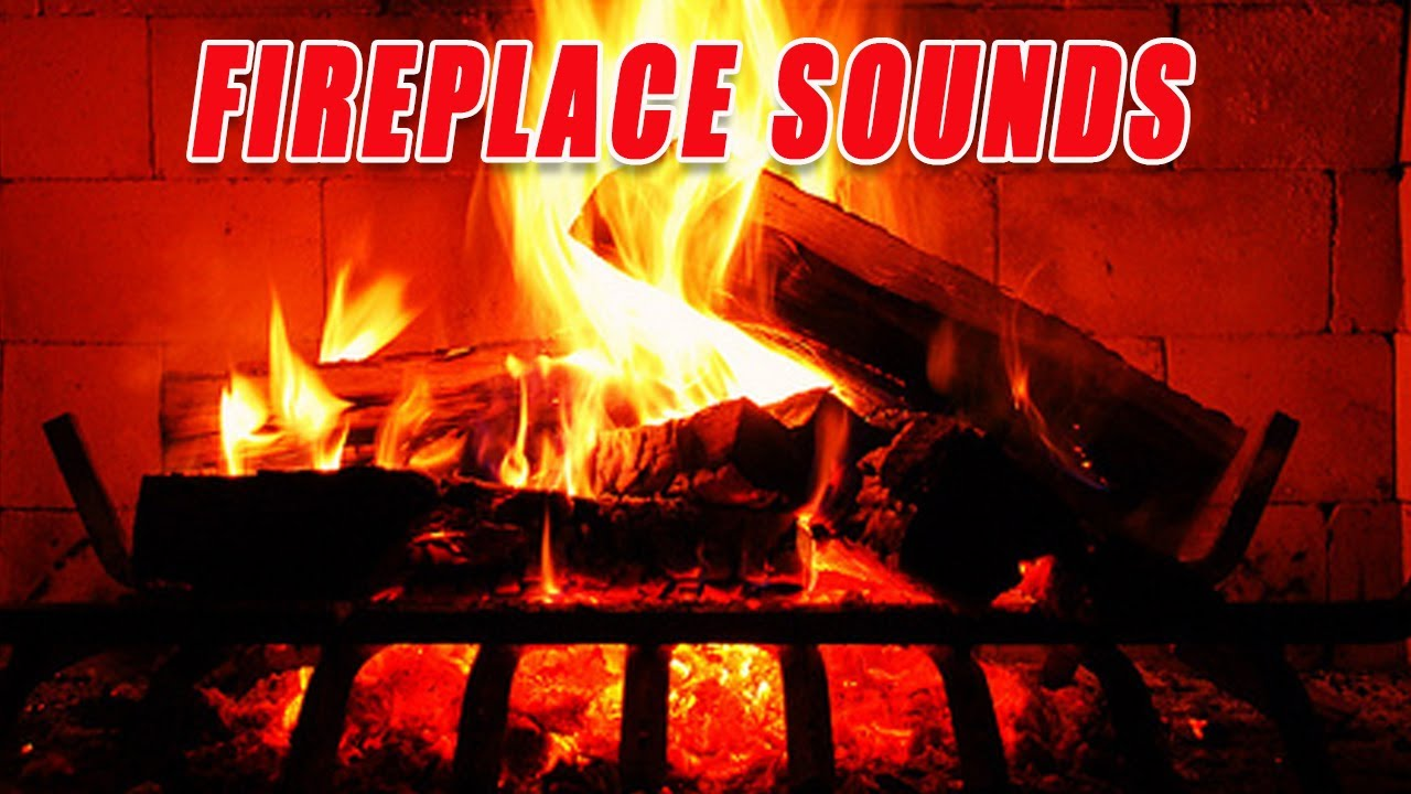 1 Hours Relaxing Fireplace Sounds