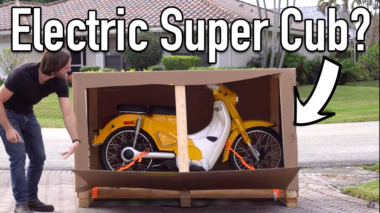 Unboxing & first ride of my new CSC Monterey electric scooter