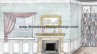 Mary Poppins Scenic Projections: Act One Scene Two