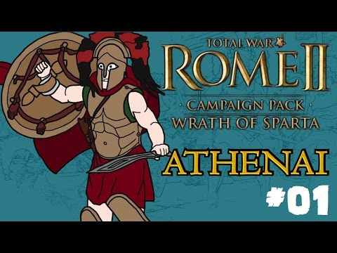Total War: Rome 2 - Wrath of Sparta - Athenai (Athens) Campaign - Part One