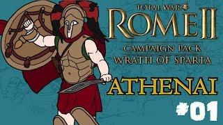 Total War: Rome 2 - Wrath of Sparta - Athenai (Athens) Campaign - Part One