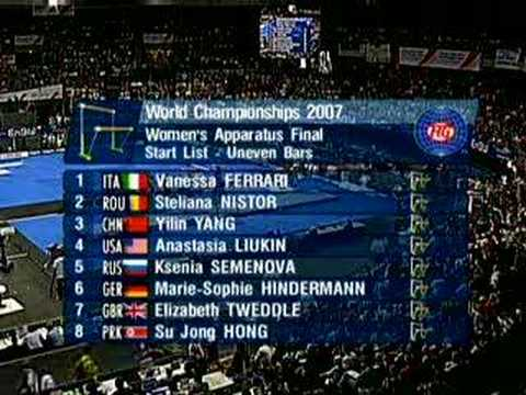 Stuttgart 2007 - Event Finals (Day One) 4/6