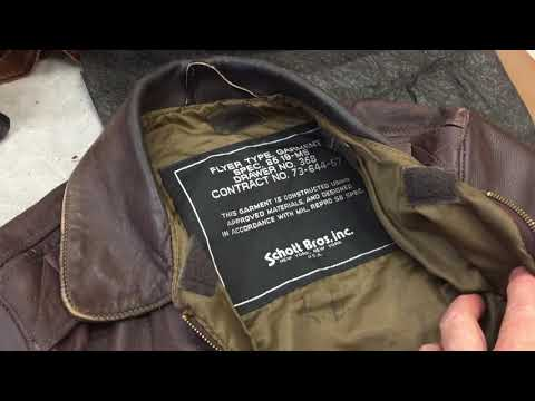 Leather jacket repair part 2