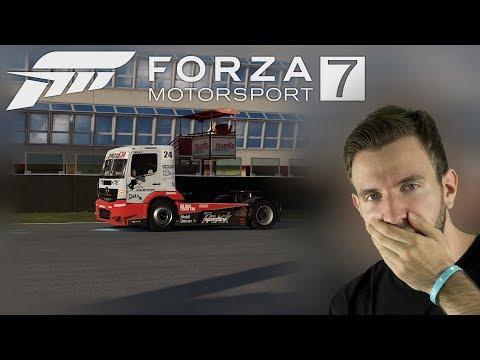 ZÁVODÍME S TAHAČEM | Forza Motorsport 7 Demo
