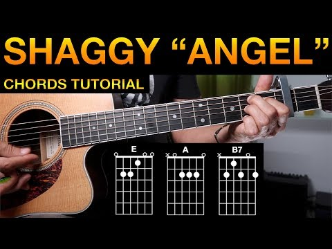 Shaggy, Angel | Guitar chords tutorial (lesson) | easy, beginner