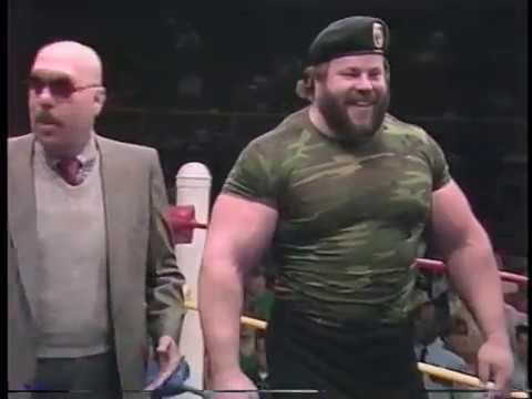 Jeep Swenson vs. Jeff Raitz & Dusty Wolfe 19870314