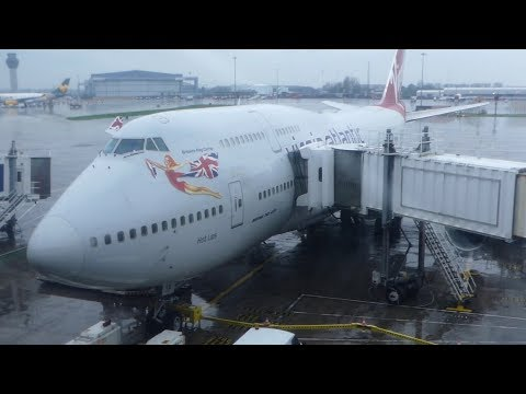 TRIP REPORT | Virgin Atlantic (ECONOMY CLASS) | Boeing 747-400 | Manchester - Orlando