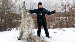 Режу сети местных 4 | Рыбалка на зимний спиннинг - наноджиг