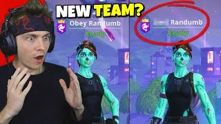i joined a fortnite team... (my new name)