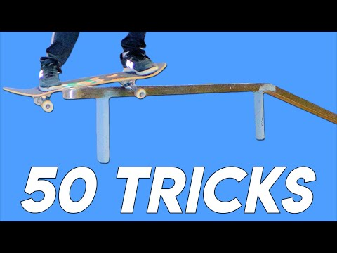 50 TRICKS ON THE BUMP TO BAR! Ft. Mogely