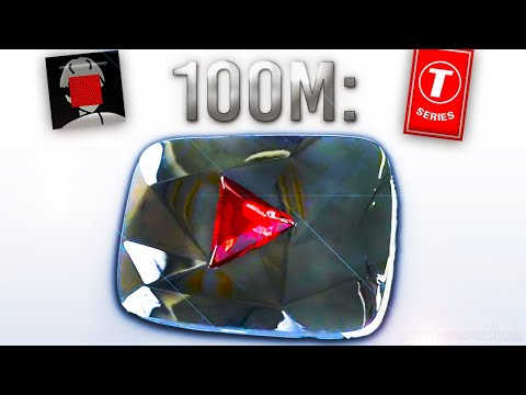 Here Is The NEW 100 Million Subscriber Play Button! Mp3