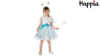 Карнавальный костюм снежинки для девочки / Обзор