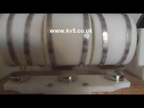 Triple V-Gate Magnetic Engine Rotation perpetual motion free energy