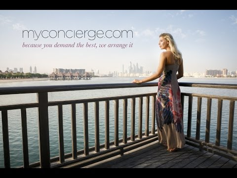 myconcierge.com teaser your concierge for the best of the UAE