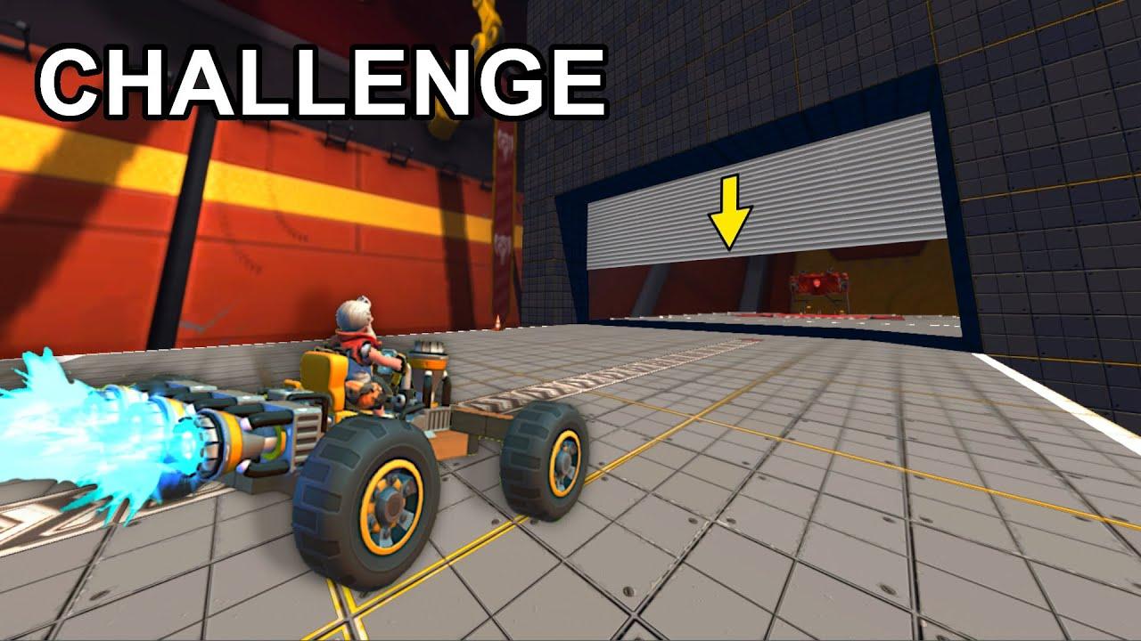Átmenni Mielőtt Bezárul A Kapu | Scrap Mechanic Challenge Mode