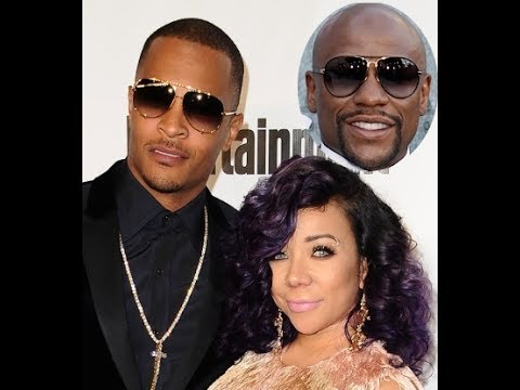 TI Sleeps With Tiny's Employee And TI Confronts Her About Mayweather!!