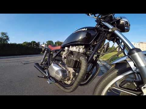 Repeat Kawasaki KZ400 Restoration Part 4: Engine Removal by