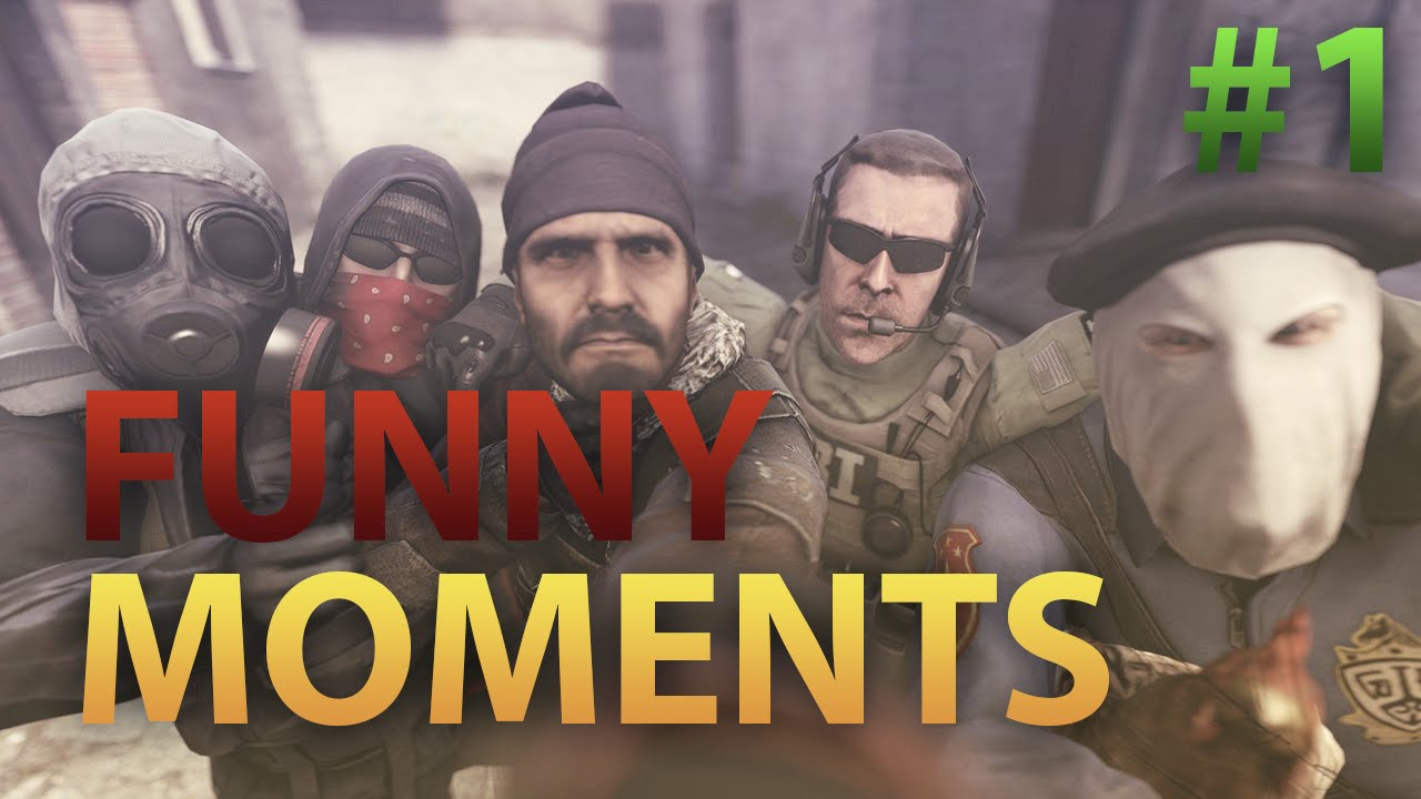 "CS:GO - Funny Moments #1 - ""Carta de Pesados"""