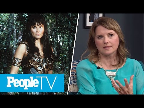 Lucy Lawless Talks 'Xena' Fans Vs. 'Battlestar Galactica' Fans | PeopleTV | Entertainment Weekly