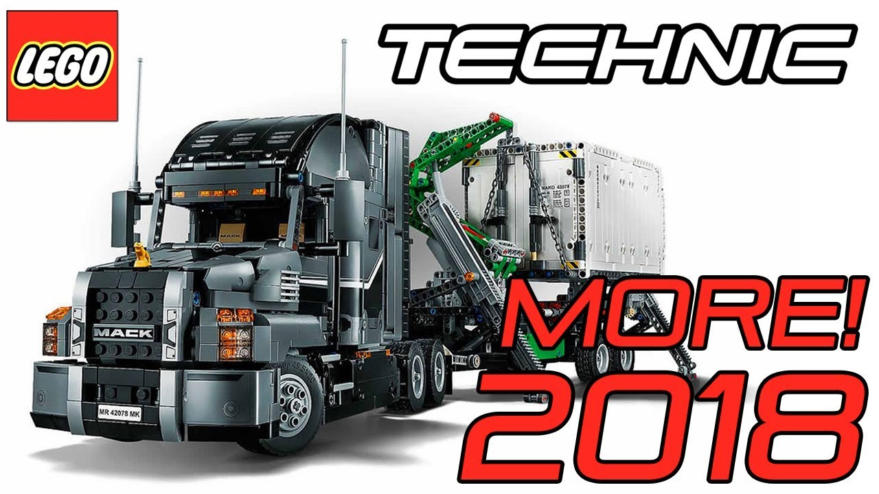new 2018 lego technic mack truck set 42078 official. Black Bedroom Furniture Sets. Home Design Ideas