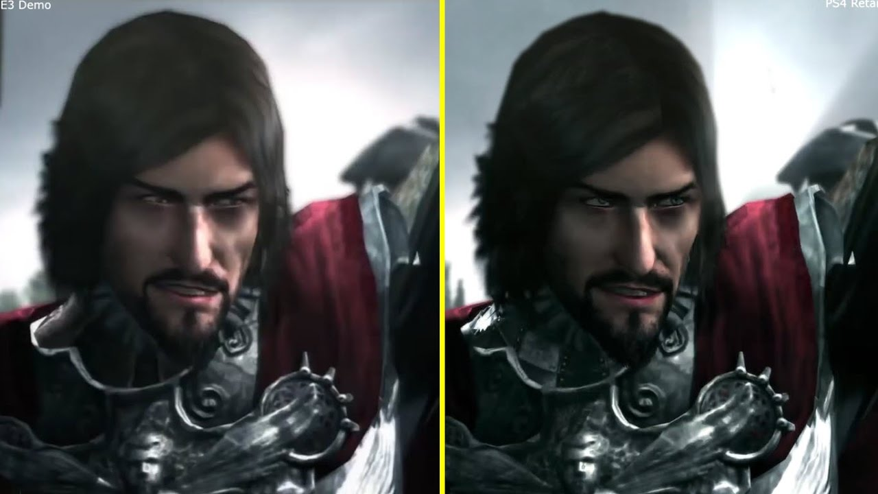 Assassin S Creed Brotherhood E3 2010 Demo Ps3 Vs Ps4 Retail