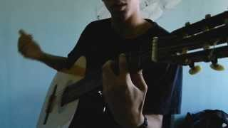 How to play bass on acoustic guitar!