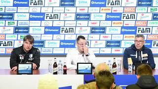 Pressekonferenz 1. FC Magdeburg gegen 1. FC Union Berlin 1:1 (1:0)