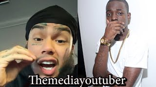 """6ix9ine Sends A Strong Message To Bobby Shmurda """"Don't Mention My Name"""""""