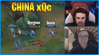 Bjergsen vs Doinb...xQc China...LoL Daily Moments Ep 1128
