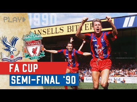 Crystal Palace v Liverpool | 1990 FA Cup Semi-Final