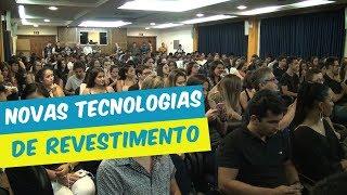 PALESTRA ARQUITETURA E URBANISMO NOVAS TECNOLOGIAS DE REVESTIMENTOS CIMENTÍCIOS
