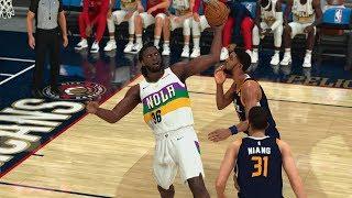 NBA 2K20 My Career EP 113 - Moses 15 Blocks Quad Dub!