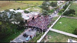 Caravana de migrantes hondureños crece y avanza por Guatemala y El Salvador