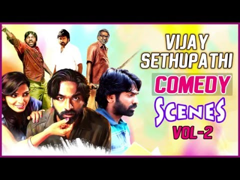 Vijay Sethupathi Comedy Scenes | Vol - 2 | Latest Tamil Movie Comedy | Nayanthara | Soori
