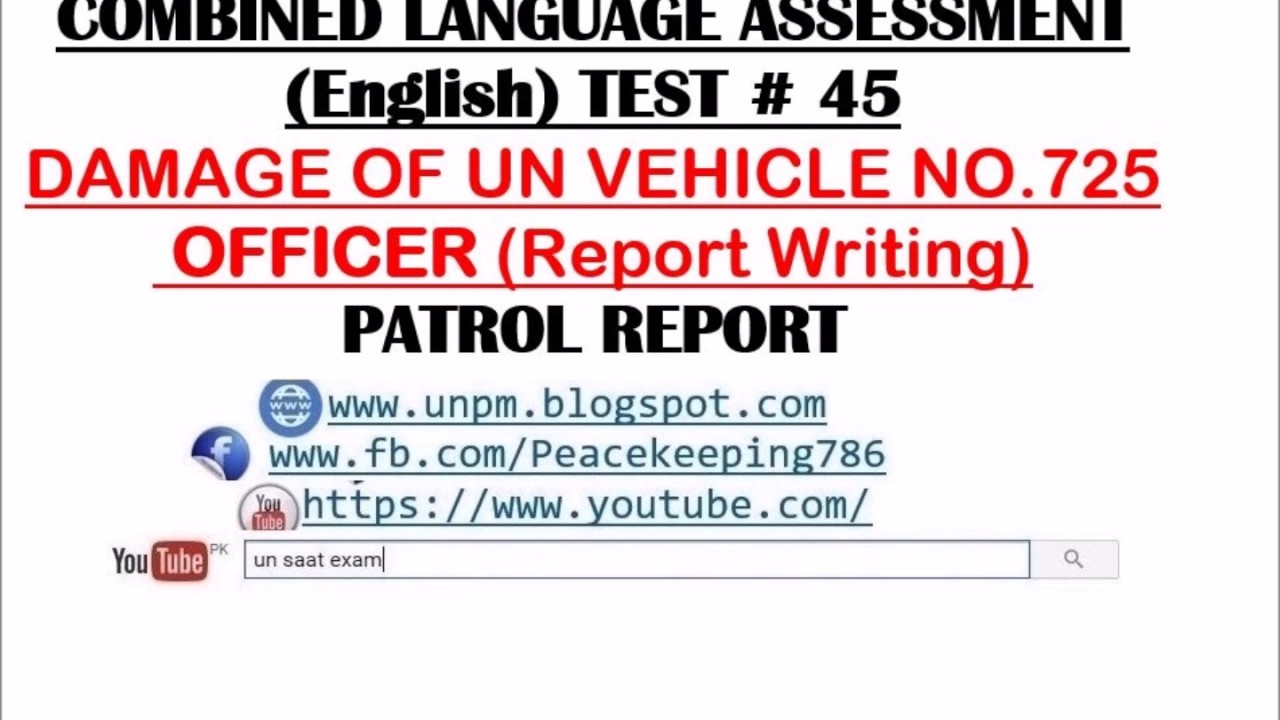 United Nations Peacekeeping Missions: CLA TEST # 45 (Combined