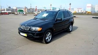 2003 BMW X5.  In depth tour, Test Drive.