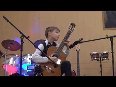 Mikhail Likhachev (11) - debut solo concert (2 part)
