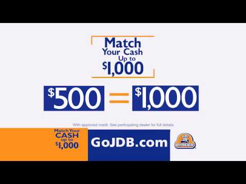 J.D. Byrider Omaha Match Your Cash Up To $1000!