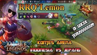 RRQ`Lemon 彡NGAMUK LAGI - BAHAYA KALAU UDAH PICK KAGURA | INDONESIA VS JEPANG-7/11/2017 thumbnail