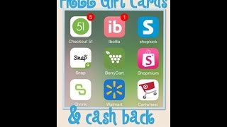 FREE Gift Cards and Cash Back
