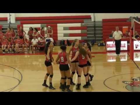Girls Varsity Volleyball Baldwinsville VS Cicero North Syracuse High 9/28/2016