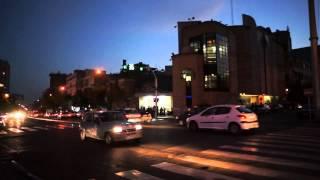 イラン旅行 テヘランの夜