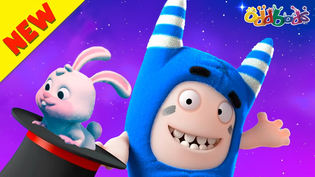 Oddbods | NEW | Pogo's Magic Tricks Revealed! | Cartoon For Kids