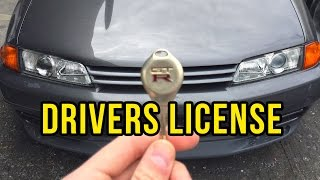 How to get your Drivers License in Japan   JAPAN 101