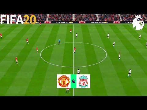 Manchester United vs Liverpool - Premier League 2019 Gameplay | FIFA 20